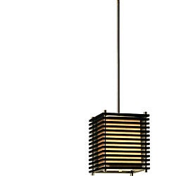 Kimura 1-light Nickel Lighting Pendant