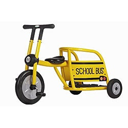 Italtrike Pilot Series '300' Yellow School BusTricycle