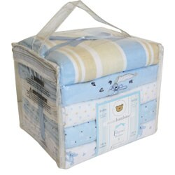 Piccolo Bambino Cotton Receiving Blankets (Pack of 5)