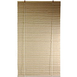 Jute Fibers 24-inch Bianco Roll-up Blinds (China)