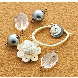 Making Memories Vintage Groove Crystal and Silver 7-piece Pack