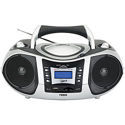 Naxa NX-250 Portable CD and MP3 Player Stereo