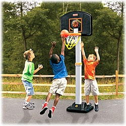 Fisher Price 'Grow To Pro' Basketball Hoop