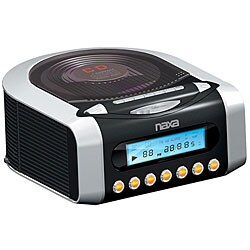 Naxa AM/ FM CD Digital Alarm Clock