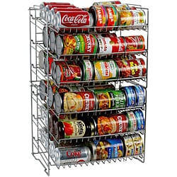 Silver Double-high Can Racks (Pack of 4)