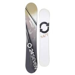24 Seven Men's White 'Aerial' 156-cm Snowboard