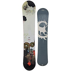 Lamar Men's 'Slayer' Dragon-inspired 163 cm Free-ride Snowboard