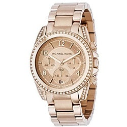 Michael Kors Women's MK5263 Rose Goldtone Watch