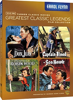 TCM Greatest Classic Films: Legends - Errol Flynn (DVD)