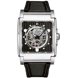 Bulova Men's Stainless Steel Black Automatic Watch