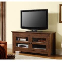 44 in. Brown Wood TV Stand