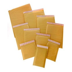 Size #1 Self-seal 7.25x11 Kraft Bubble Mailers (Case of 150)