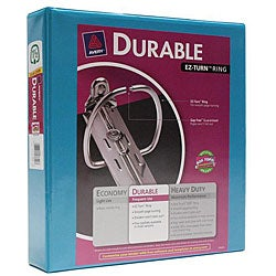 Avery Durable 1.5-inch Ring Turquoise Binders (Pack of 6)