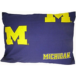 University of Michigan Wolverines King-size Pillowcase
