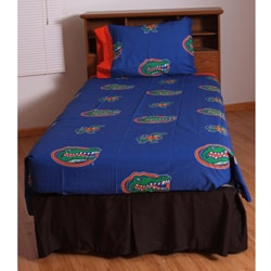 University of Florida Gators Twin-size Sheet Set