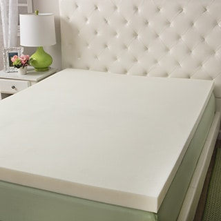 Slumber Solutions 3-inch Memory Foam and 1.5-inch Fiber Mattress Topper