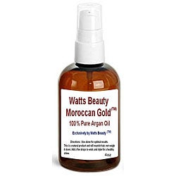 Watts Beauty Moroccan Gold 4-oz pure Argan Oil