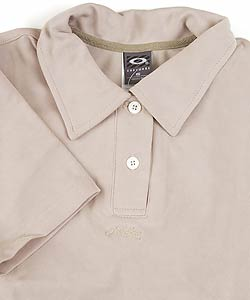 Oakley Fall Golf Women's Khaki Polo Shirt