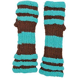 Wool Big Stripe Arm Warmer (Nepal)