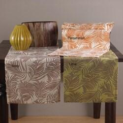 Fern Design 72-inch Oblong Table Runner