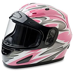 Mossi Pink Full Face Snow Helmet