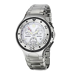 Movado Men's 'Series 800' Stainless Steel Chronograph Quartz Watch