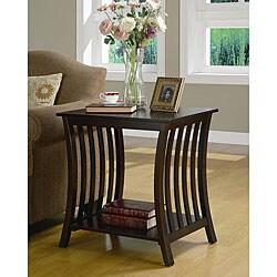 Manhattan Wood End Table