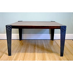 Sheesham Wood Dark Mahogany Coffee Table (India)
