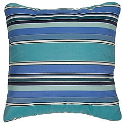 Dolce Oasis 18-inch Knife-edged Outdoor Pillows with Sunbrella Fabric (Set of 2)