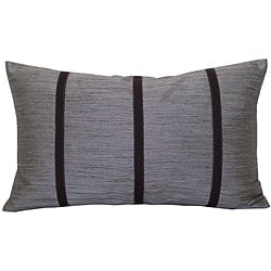 Brown Stripe Decorative Pillow