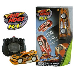 Air Hogs Zero Gravity Micro Orange Radio Controlled Sports Car