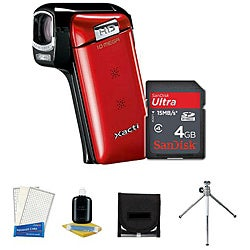 Sanyo VPC-CG10 10MP Digital Video Camera with Camera Accessories Kit