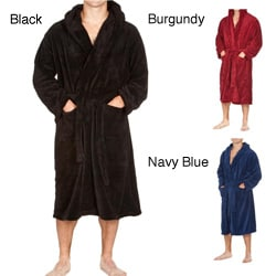 Fleece Hooded Bathrobe