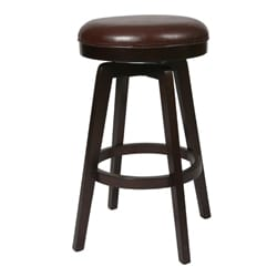 Royal Vista Espresso 30-inch Backless Bar Stool