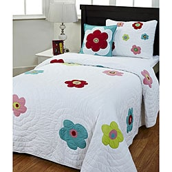 Sydney 3-piece Twin-size Quilt Set