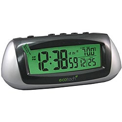 Equity by La Crosse  65903 Solar LCD Alarm Clock