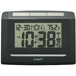 Equity by La Crosse 65906 Solar Atomic Digital Clock