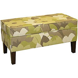 Jenny Upholstered Esprit Pear Storage Bench