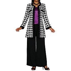Жакет в стиле Коко Шанель с брюками.