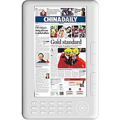 Fuji Labs 7-inch Color Display eBook Digital Text Reader with 2 GB Memory