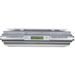 Sony ICFCDK50 Under Cabinet Kitchen CD Clock Radio (Refurbished)