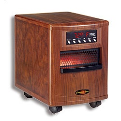 Comfort Zone CZ-1000WT 1000-watt Quartz Infrared Heater