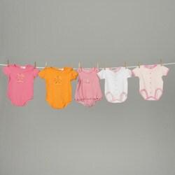 Papush Girl's Bodysuit Set (Pack of 5)