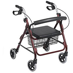 Rollator Aluminum 6-inch Wheel Walker