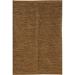 Hand-woven Contemporary Neutral Jute Rug (3' 6 x 5' 6)