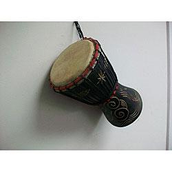 Black Baby Djembe Drum (Ghana)