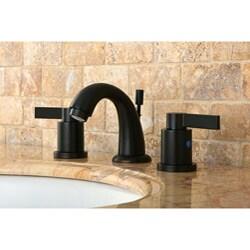 NuvoFusion Oil Rubbed Bronze Gooseneck Mini-widespread Bathroom Faucet