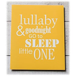Trendography Prints  'Sleep Little One' Graphic Art Print