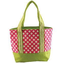 Small Dot Canvas Tote Bag