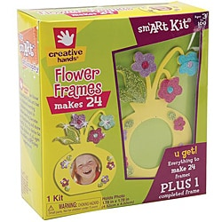 Fibre-Craft Creative Hands Flower Frames Foam Kit